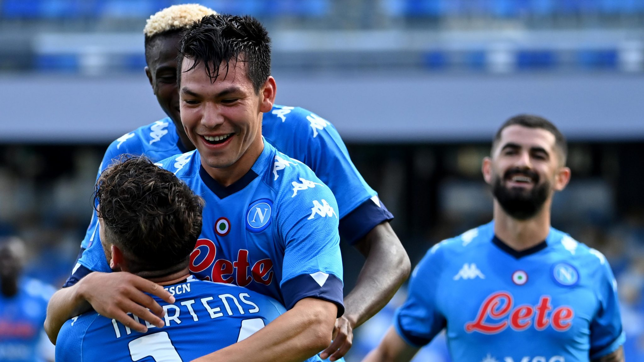 Osimhen Scores First Serie A Goal In Napoli Big Win Vs Atalanta