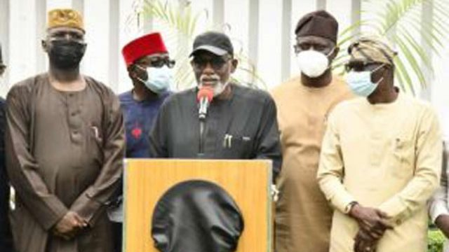 South-West governors, ministers visit Lagos, urge for peace
