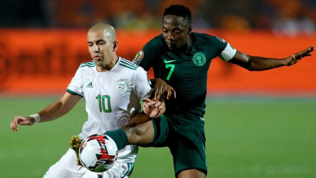 Again, Super Eagles fall to Algeria