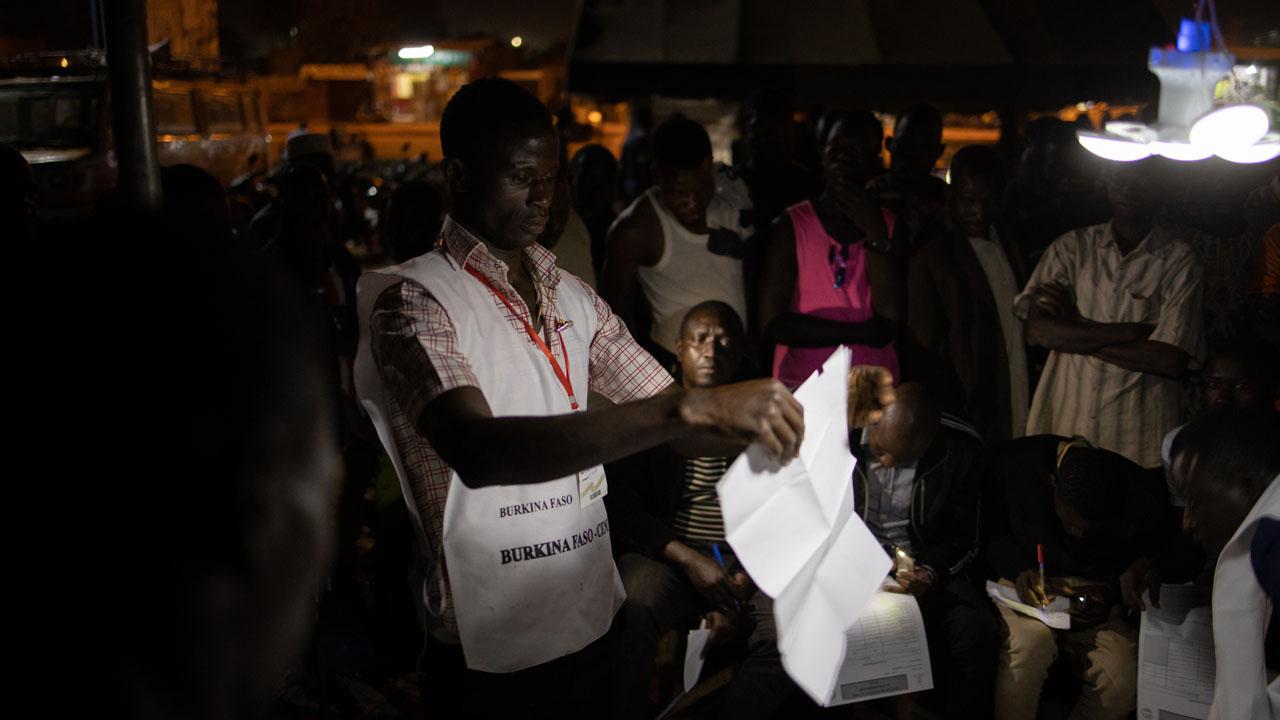 Voting begins in Burkina Faso for presidential, legislative elections