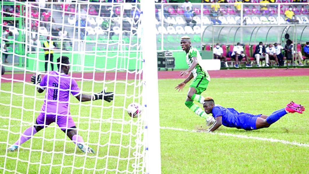 AFCON qualifiers: Osimhen roars! ... We'll give everything against Sierra Leone