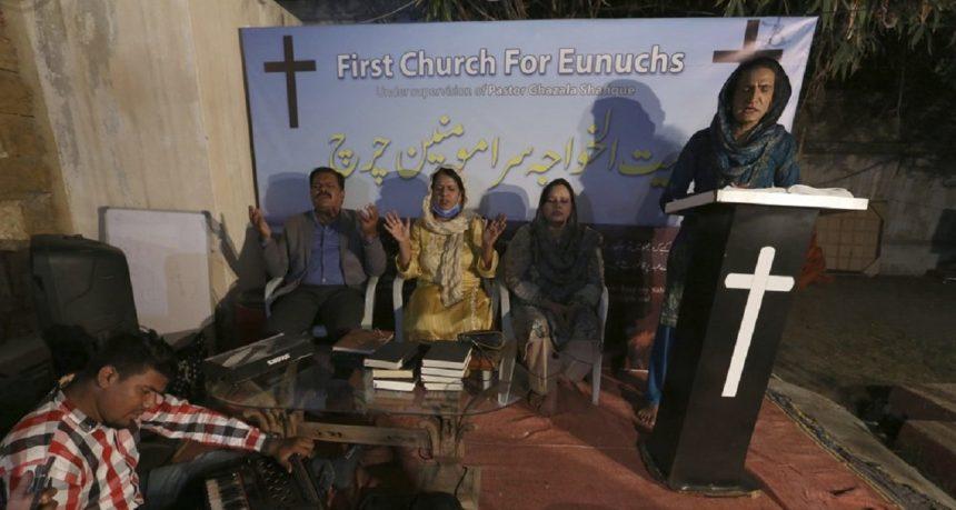 Transgender Church Pakistan | Image: AP Photo-Fareed Khan 1