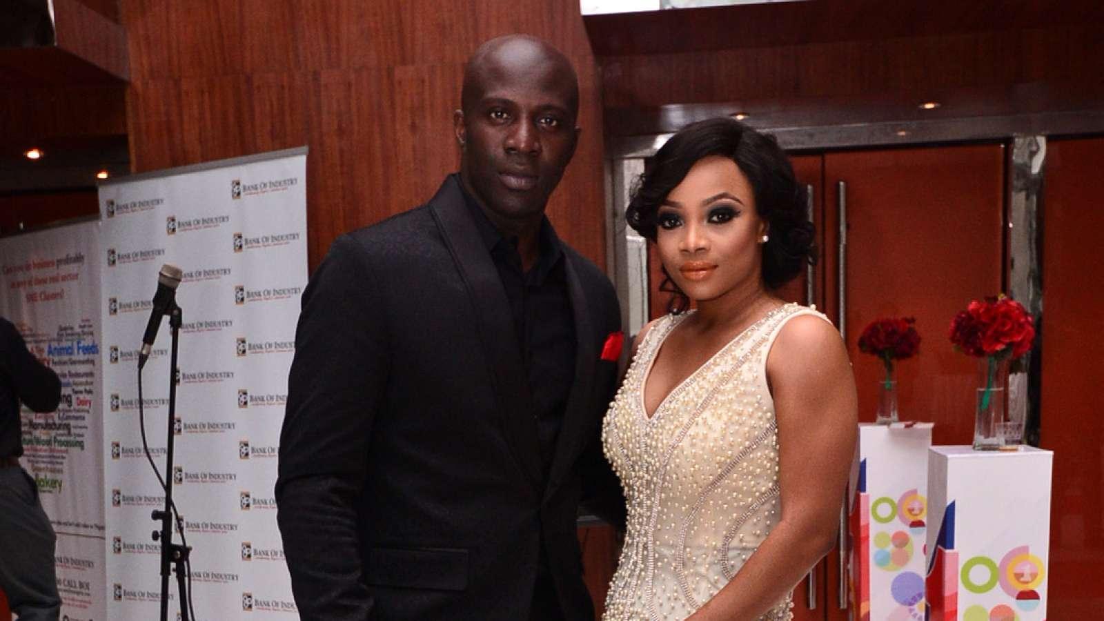 Maje Ayida and Toke Makinwa