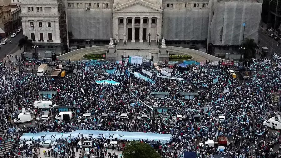Argentina to soon legalize Abortion (debate in process)