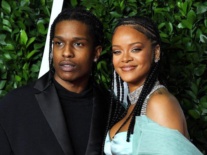 A$AP Rocky and Rihanna