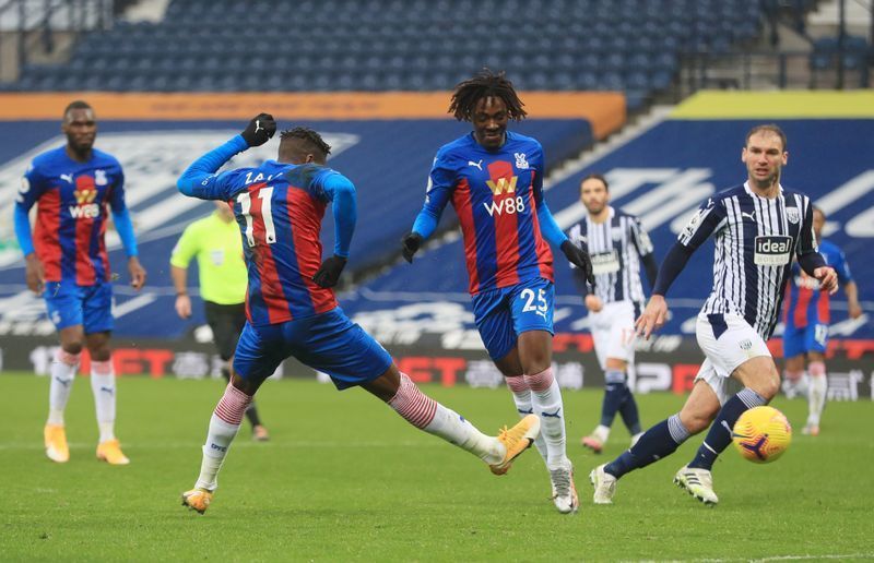 Zaha Returns And Scores 2 As Palace Beats West Brom 5-1