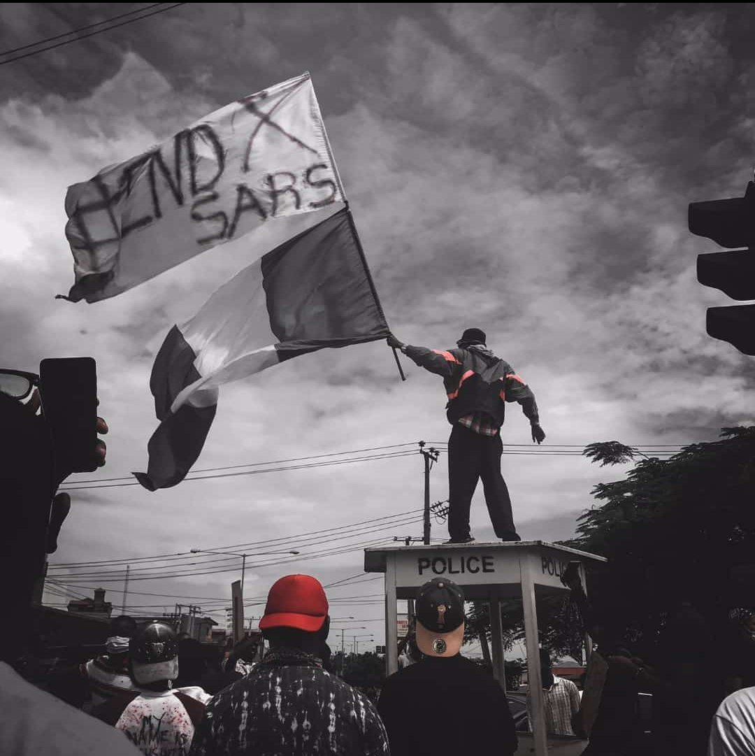 Lagos #EndSARS protest
