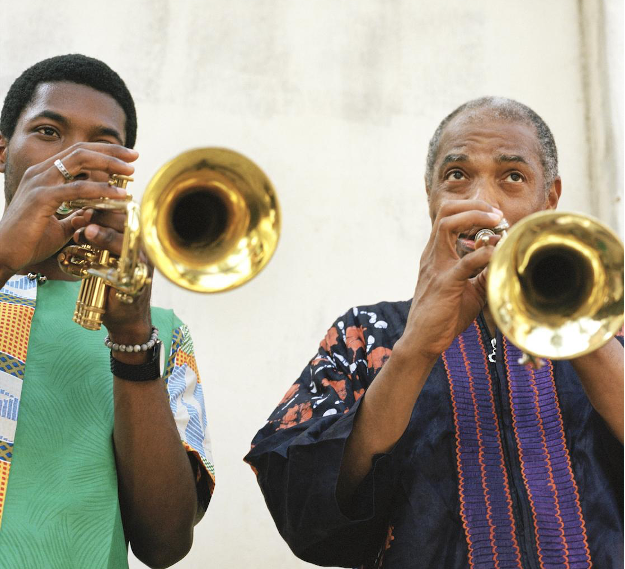 Femi and Made Kuti | Image: Sean Thomas