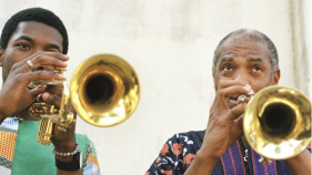 Femi and Made Kuti Press Image