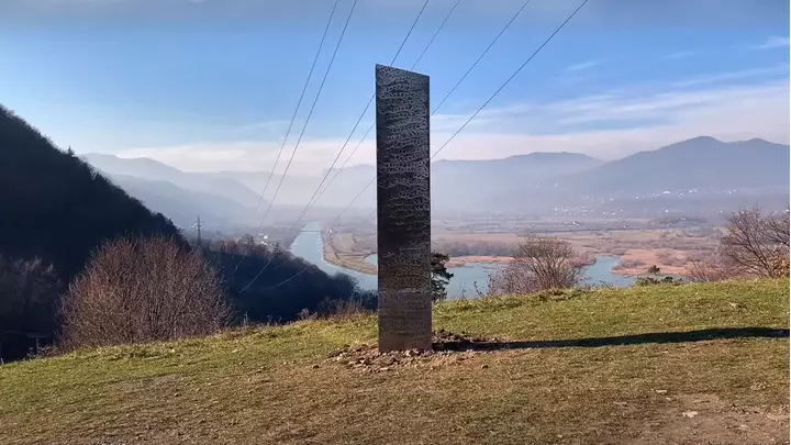 Mysterious Monolith Appears In Romania After Similar One Vanished In The U.S
