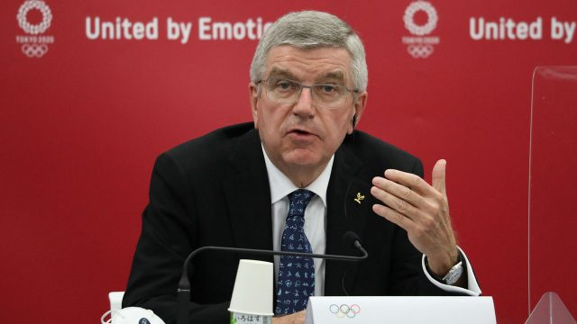 Thomas Bach unopposed in bid for second term as IOC president