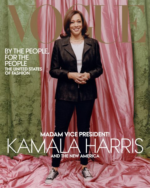 Why Folks Are Angry About Kamala Harris' 'Vogue' Cover