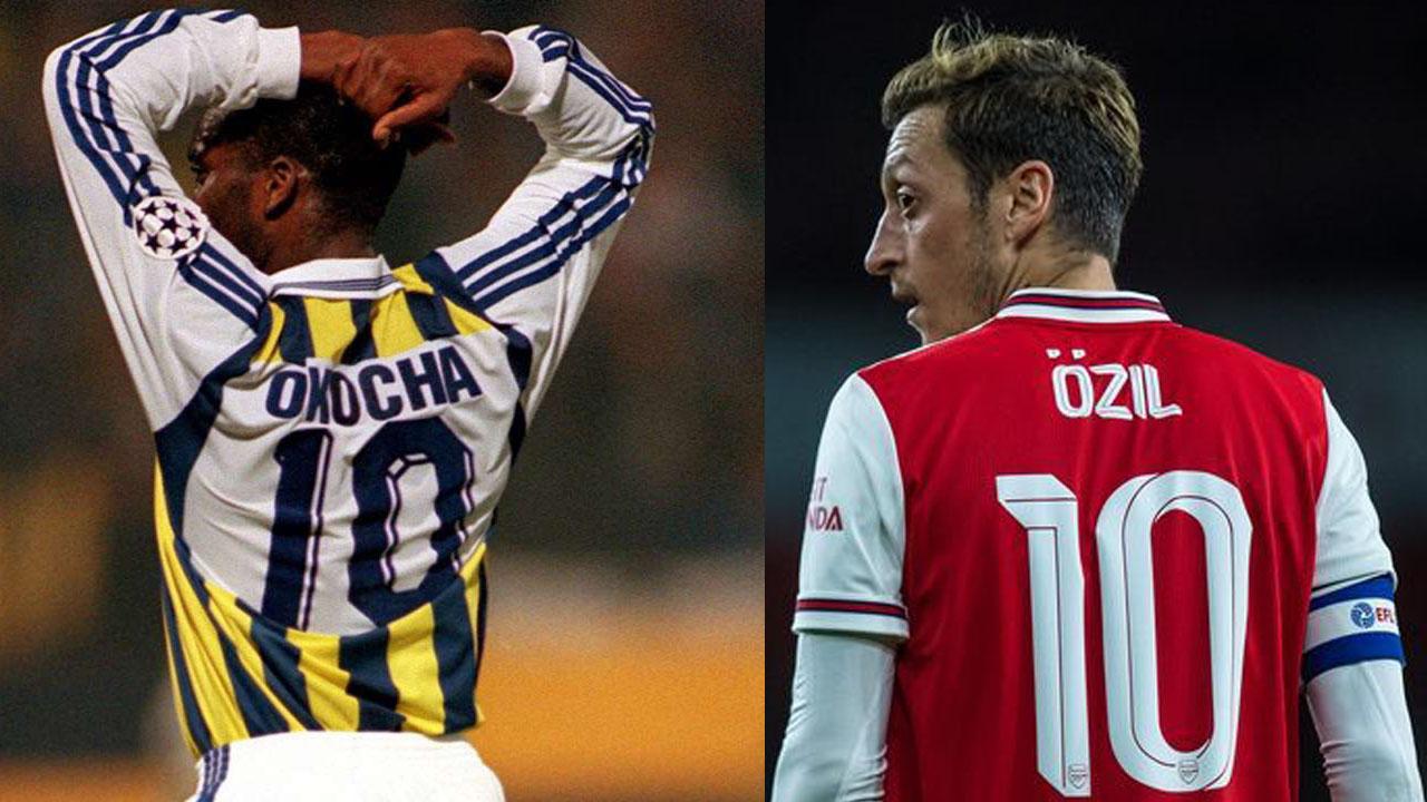 Jay Jay Okocha and Ozil