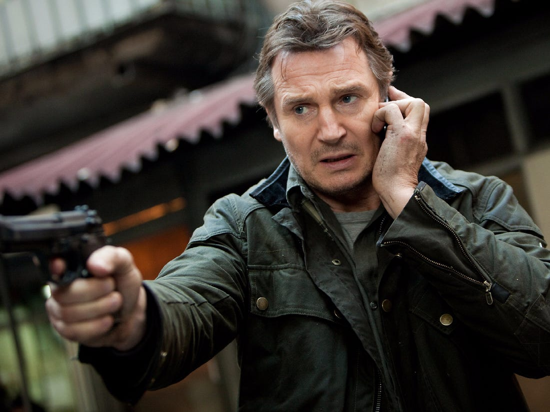 Liam Neeson Says He Will Soon Retire from Action Films