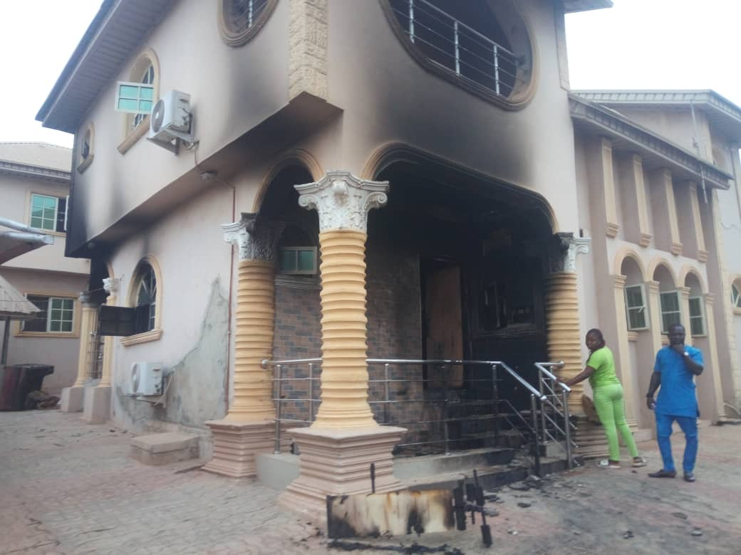 Cause of fire outbreak in Sunday Igboho's house to be investigated — Oyo  State Fire Service | The Guardian Nigeria News - Nigeria and World News —  Nigeria — The Guardian Nigeria