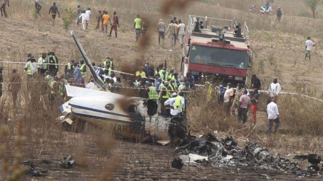 The crash of Nigeria Air Force B350i