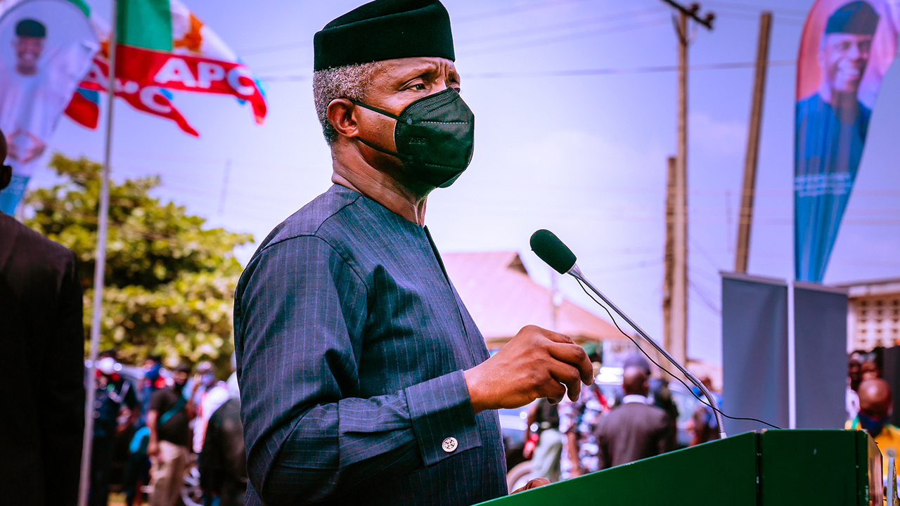Cryptocurrencies should be regulated, not prohibited, Osinbajo tells CBN