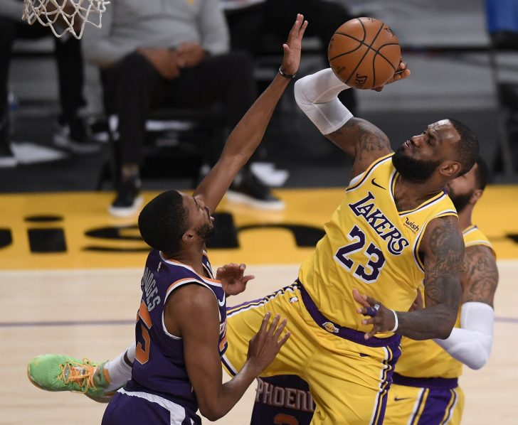 LeBron out with ankle sprain as NBA All-Star Game looms