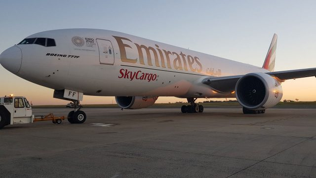 Emirates sets new record in sky cargo operations