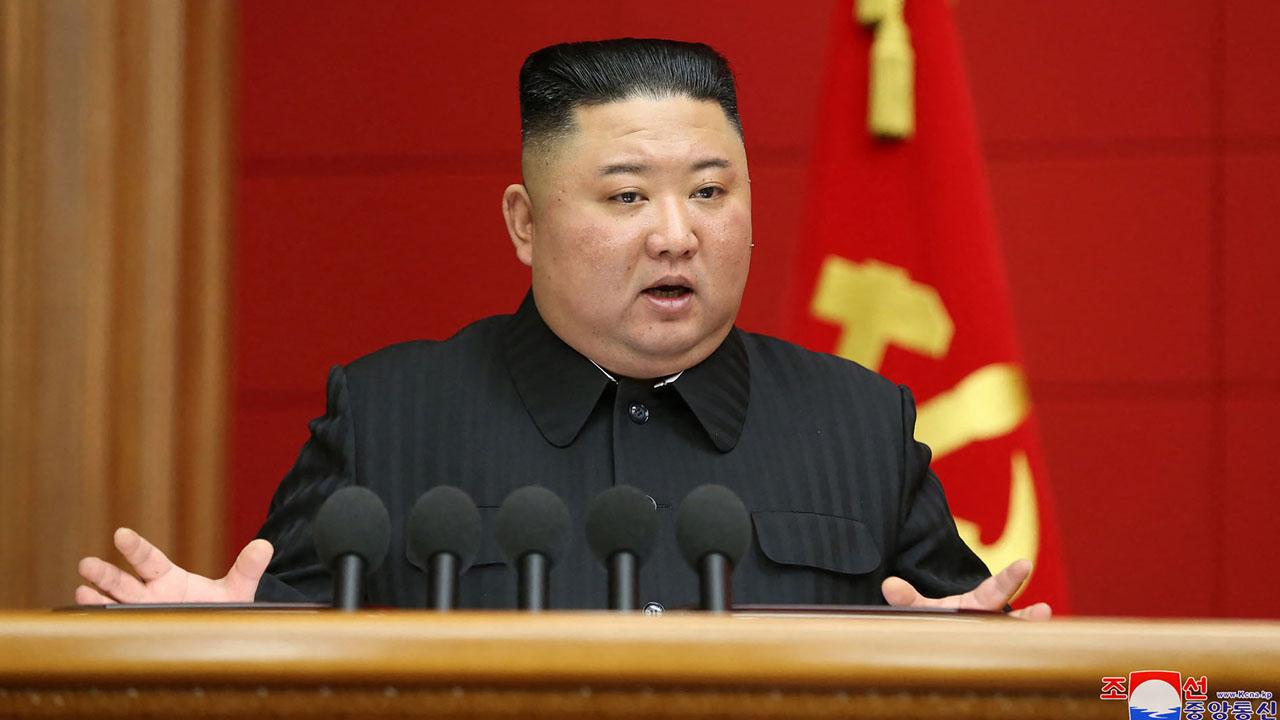 North Korea's Kim blames US for tensions