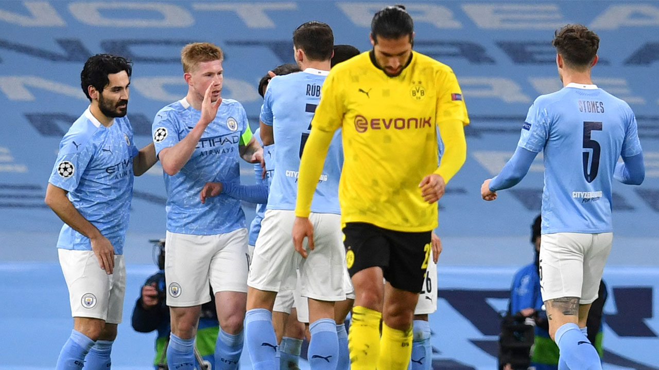 City remain 'fresh' for quadruple fight after Dortmund ...