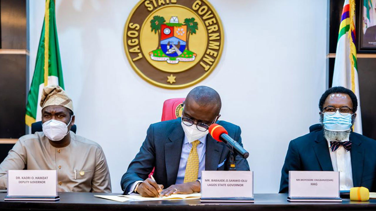Sanwo-Olu signs anti-corruption agency, gambling law  The Guardian Nigeria News