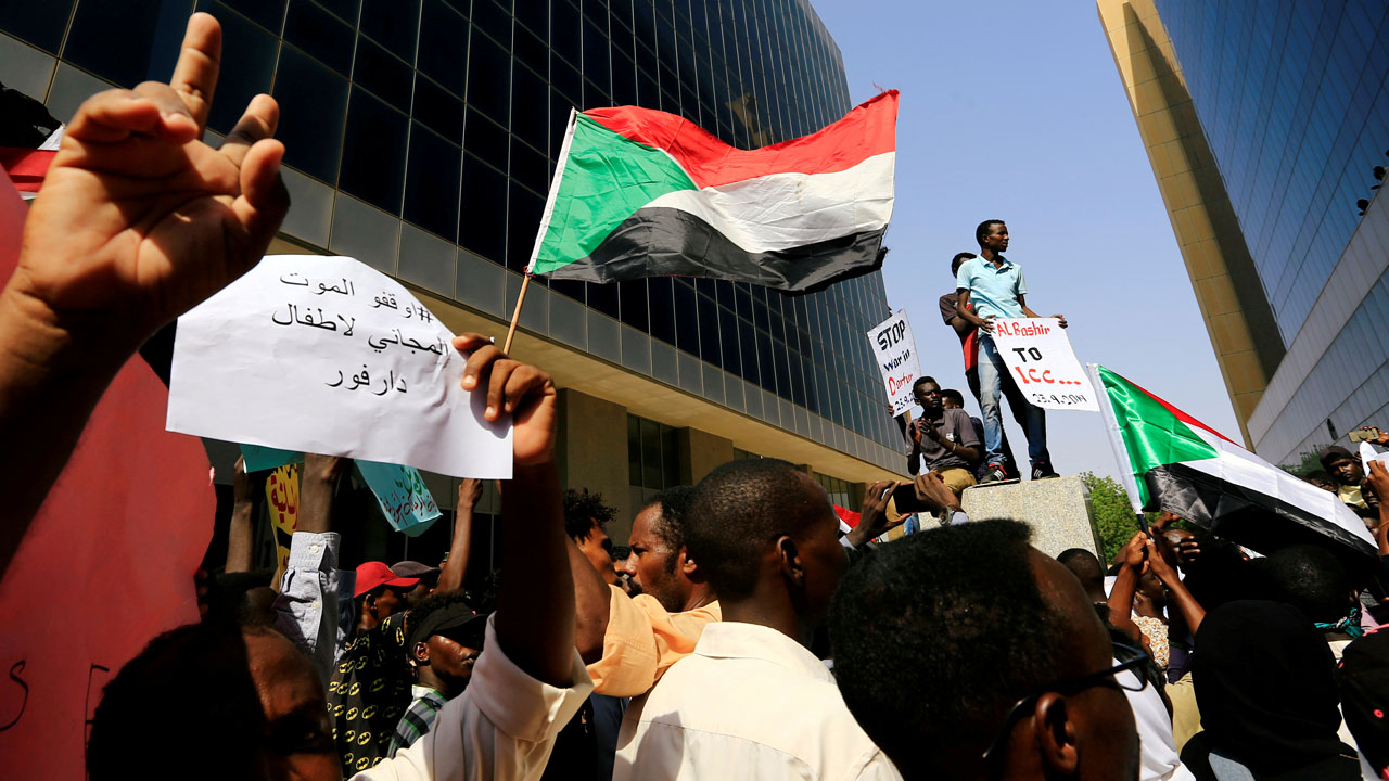 Hundreds protest in Sudan's capital against government
