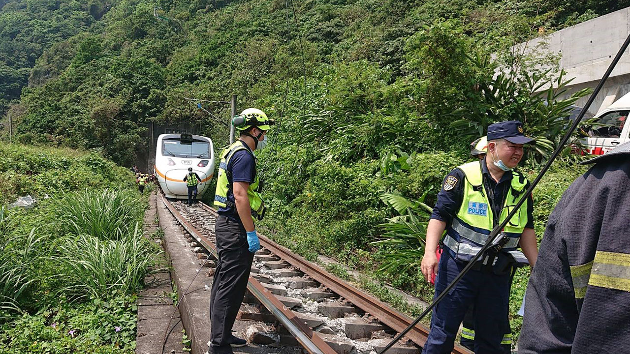 Taiwan train crash kills 41 in deadliest rail tragedy in decades