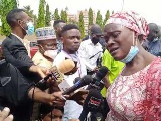 Parent of an abducted Kaduna university student