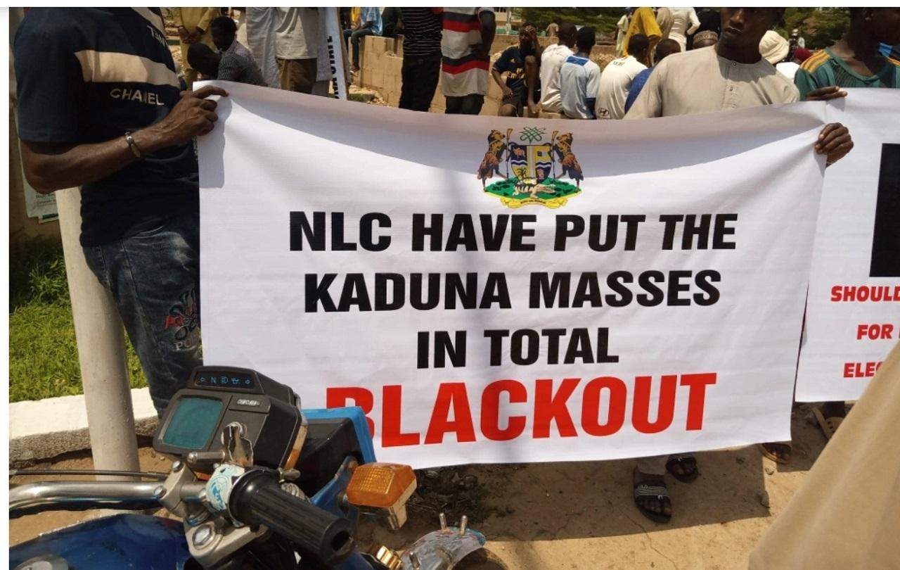 Pro-Kaduna protesters