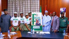 Muhammadu Buhari, Sunday Dare with NYSC members