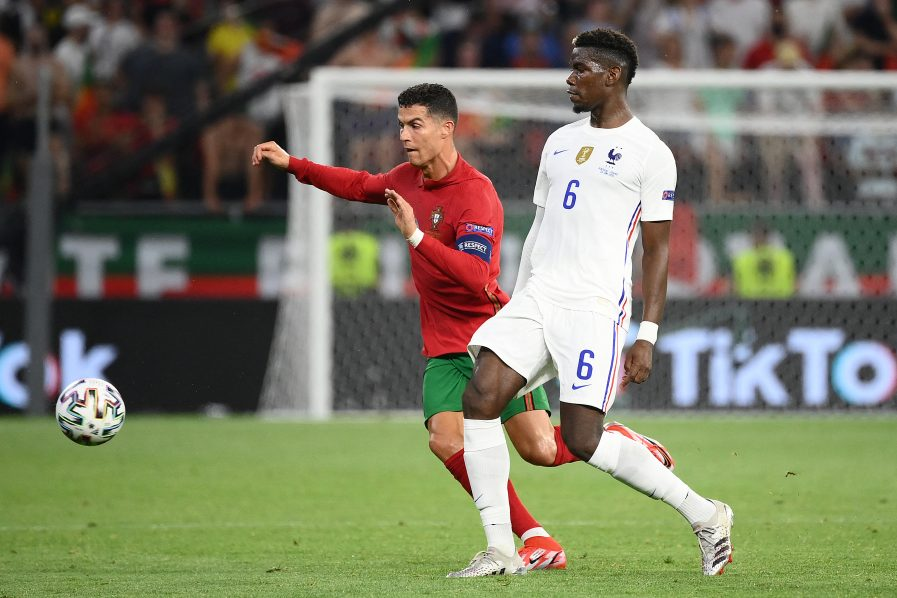 Cristiano Ronaldo and Paul Pogba make joint transfer declarations in Euro 2020 thriller