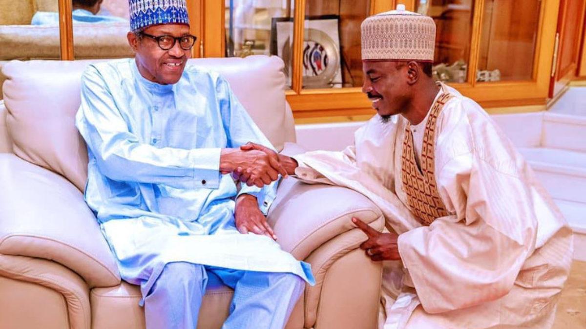 Muhammadu Buhari and Bashir Ahmad