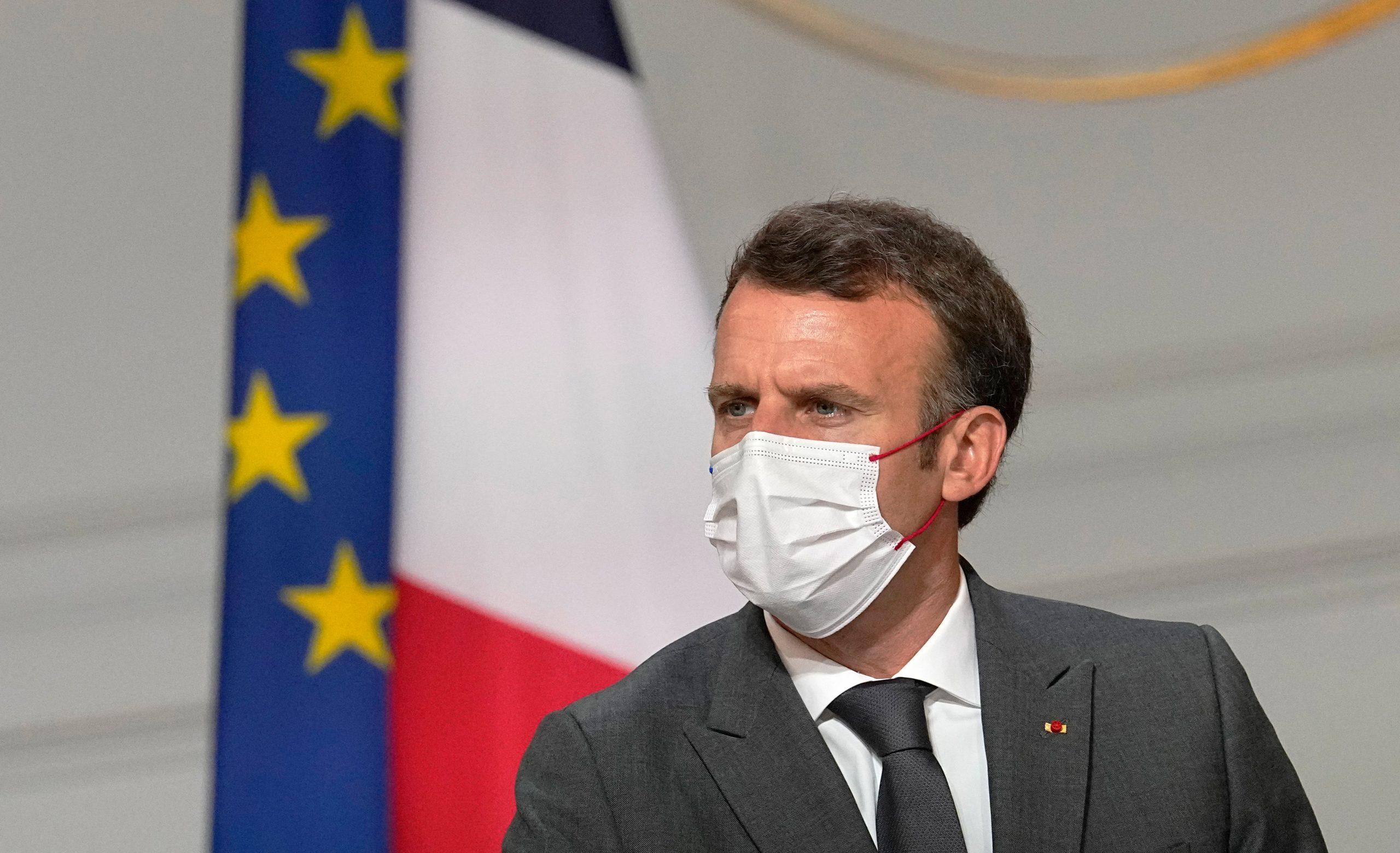 France's Macron hosts Tajik leader for talks on Afghanistan