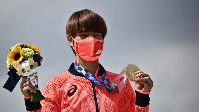 Home boy Horigome crowned first Olympic skateboarding champion