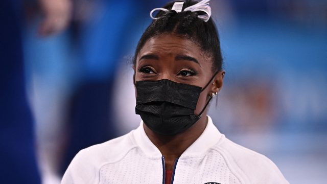 Biles out of gymnastics final with 'medical issue', will be assessed daily