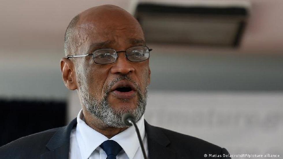 Haiti's new prime minister Ariel Henry