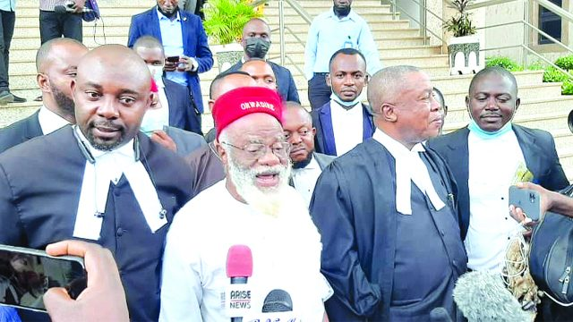 Kanu's absence forces three-month delay, court dithers on Igboho's fate