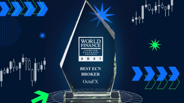 OctaFX claims the Best ECN Broker award for the second year in a row