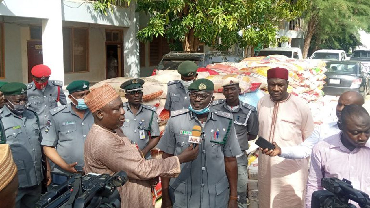 Customs impounds imported vehicles, rice in Katsina | The Guardian Nigeria News - Nigeria and World News