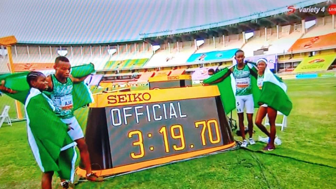 Nigeria grabs first gold medal at World U20 Championship, sets new record |  The Guardian Nigeria News - Nigeria and World News — Sport — The Guardian  Nigeria News – Nigeria and World News