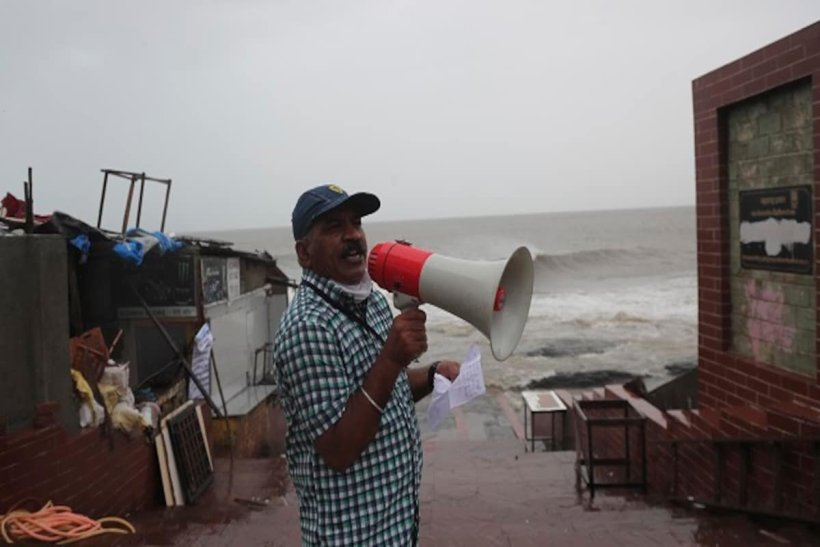 Cyclone Gulab makes landfall in eastern India