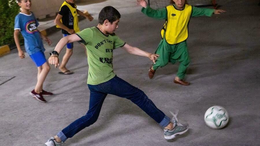 Unaccompanied children evacuated from Afghanistan in Qatar limbo