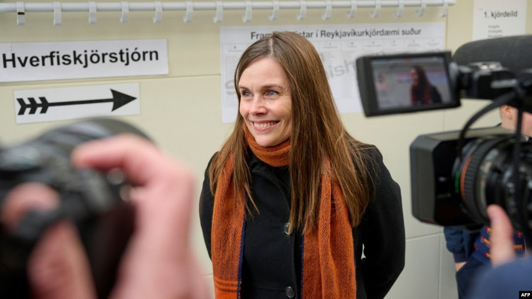 Majority of women in Iceland's new parliament, European first