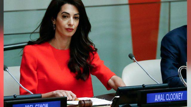 Amal Clooney named Sudan adviser to ICC prosecutor