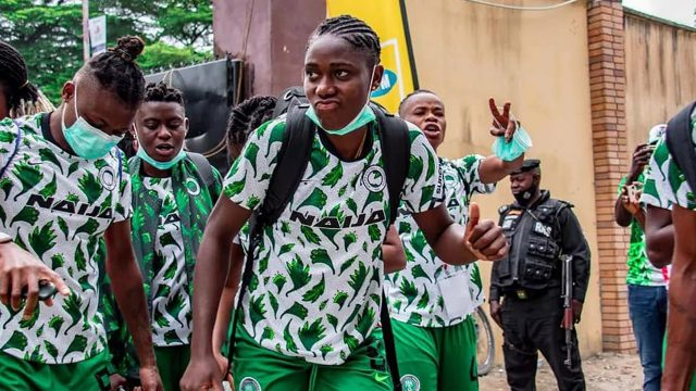 Super Falcons' defeat a wake up call, says Chiejine