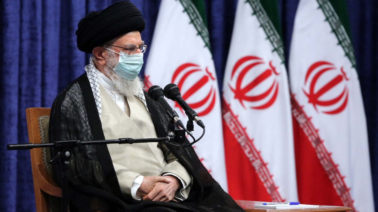 Iran leader reasserts ban on sports with Israel