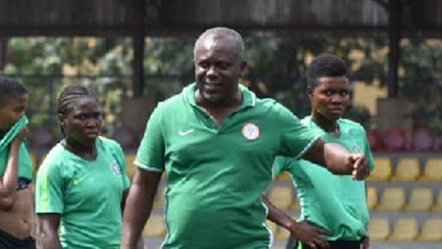 Danjuma takes 23 Falconets to Douala for CAR clash