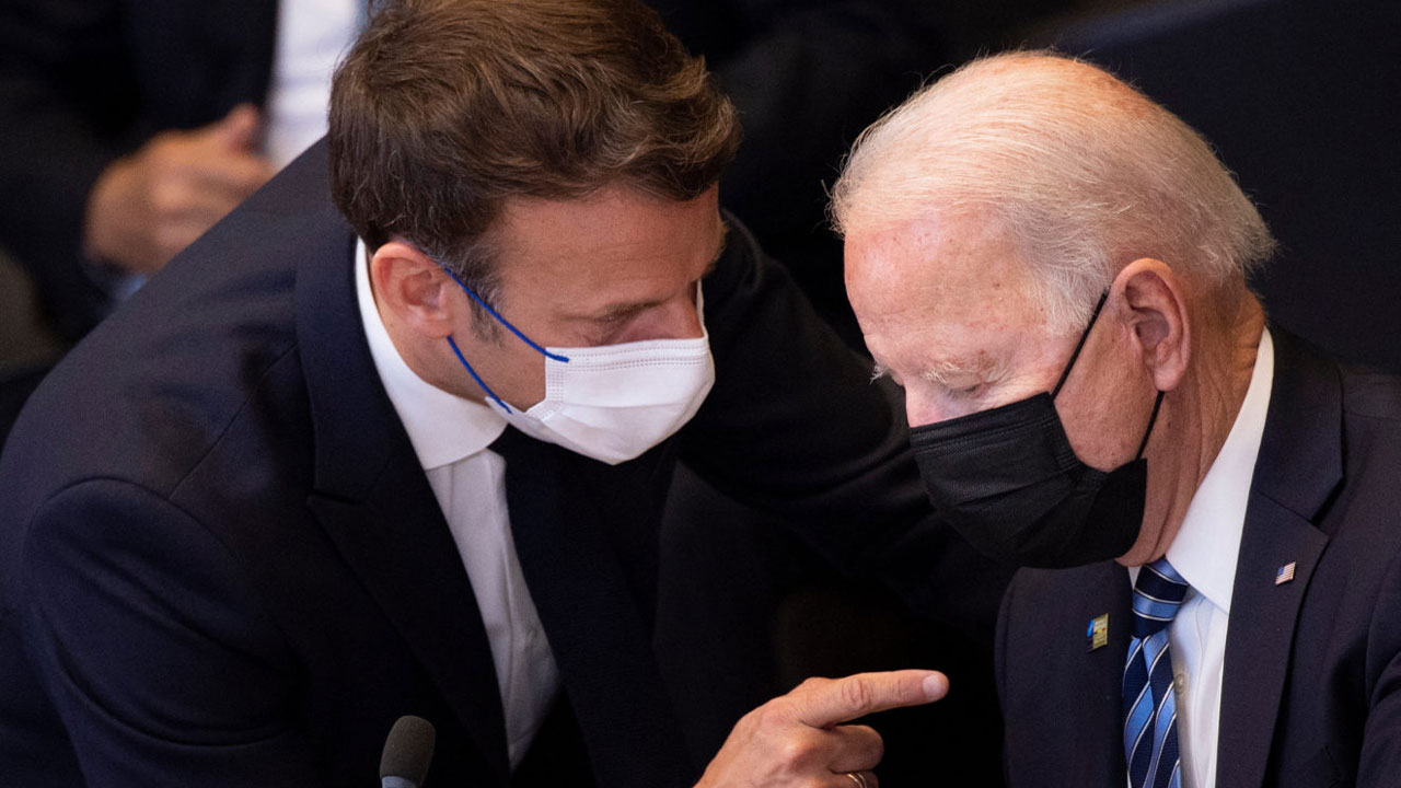 Macron, Biden to talk in 'coming days' about submarines spat