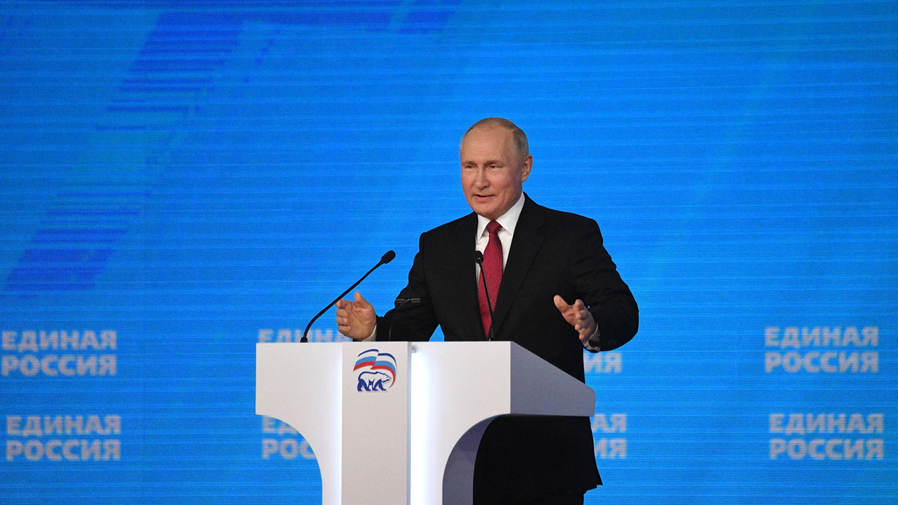 Putin says fulfilled childhood dream to serve Russia
